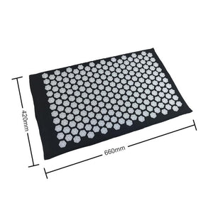 UrbanFit Acupressure Therapy Mat + Pillow