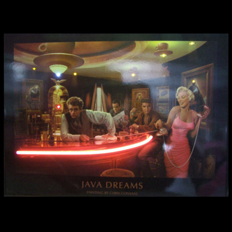 Java Dreams Neon/Led Picture