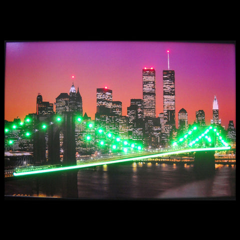 New York Skyline Neon/Led Picture
