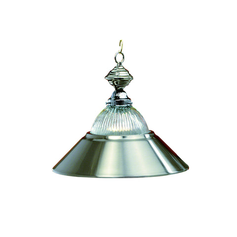 "14"" 1/2 Shade Pendant-Antique Brass"