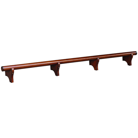 "84"" Dry Bar Foot Rail - Chestnut"