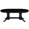 "Image of 84"" Texas Hold'Em Game Table With Dining Top- Black"
