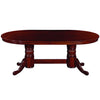 "Image of 84"" Texas Hold'Em Game Table With Dining Top- English Tudor"