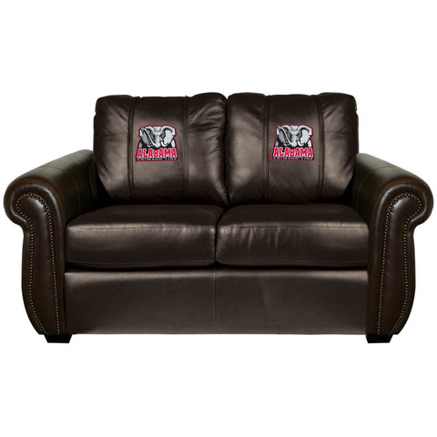 Alabama Crimson Tide Collegiate Chesapeake Love Seat With Elephant Logo
