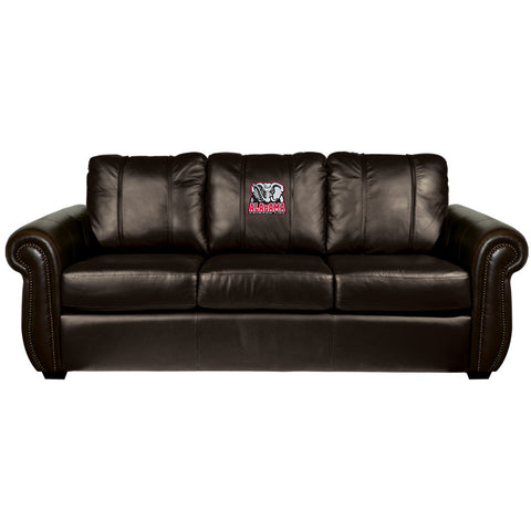 Alabama Crimson Tide Collegiate Chesapeake Sofa With Elephant Logo