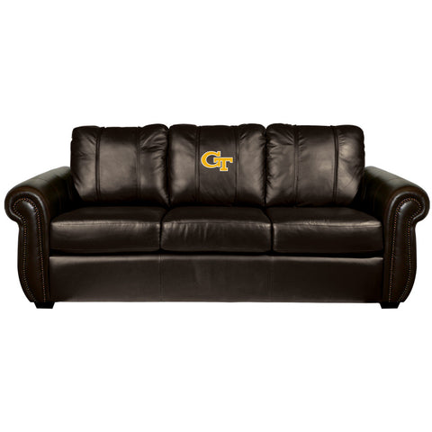 Georgia Tech Yellow Jackets Collegiate Chesapeake Sofa With  Block Gt Logo