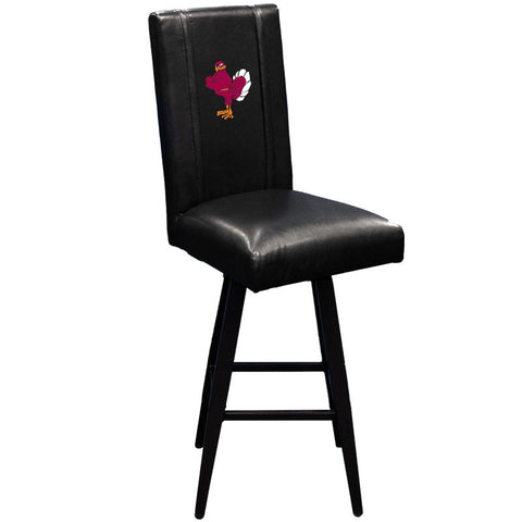 Virginia Tech Hokies Collegiate Bar Stool Swivel 2000 With Stand Logo