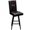 Image of Virginia Tech Hokies Collegiate Bar Stool Swivel 2000 With Feet Logo