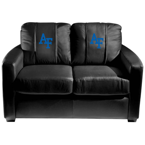 Air Force Falcons Collegiate Silver Love Seat