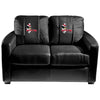 Image of Youngstown State Penguins Collegiate Silver Love Seat With Pete Logo