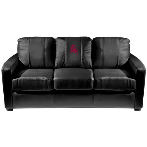 Arizona State Sun Devils Collegiate Silver Sofa With Sparky Logo