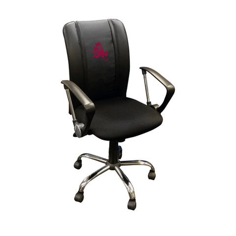 Arizona State Sun Devils Collegiate Curve Task Chair With Sparky Logo