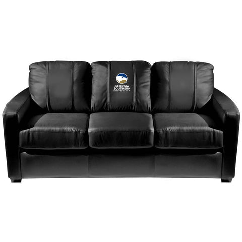 Georgia Southern University Collegiate Silver Sofa