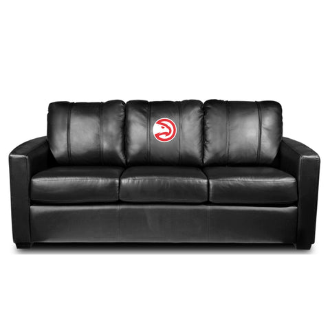 Atlanta Hawks NBA Silver Sofa