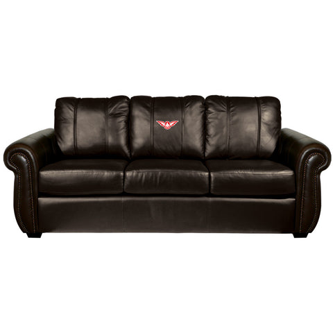 Atlanta Hawks NBA Chesapeake Sofa With  Secondary Logo Panel