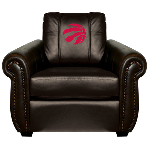 Toronto Raptors NBA Chesapeake Chair With Red Logo Panel