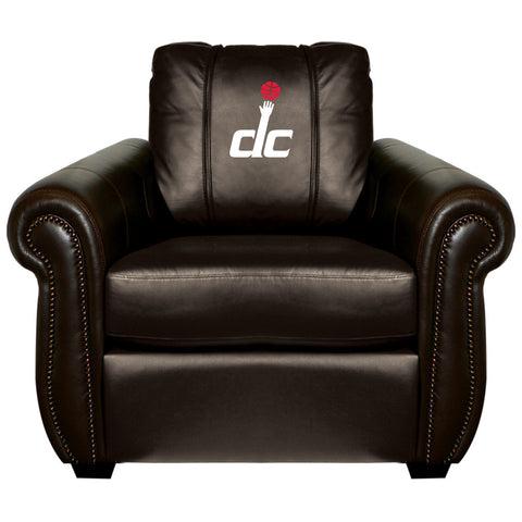 Washington Wizards NBA Chesapeake Chair With Secondary Logo Panel