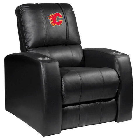 Calgary Flames NHL HT Recliner With Red Logo