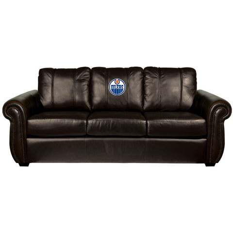 Edmonton Oilers NHL Chesapeake Sofa
