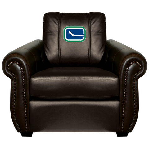 Vancouver Canucks NHL Chesapeake Chair With Alternate Logo
