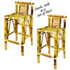 Image of Bamboo Tiki Bar Stools