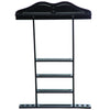 Image of Wall Cue Rack - Black
