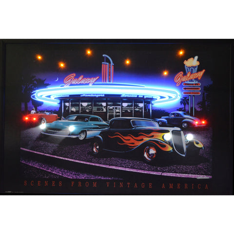Galaxy Diner Neon/Led Picture