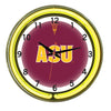 Image of Arizona State Neon Wall Clock