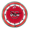Image of Utah Neon Wall Clock