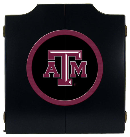 Texas A&M Dart Cabinet