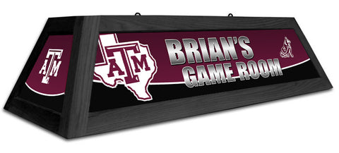 Texas A&M Spirit Lamp - Custom