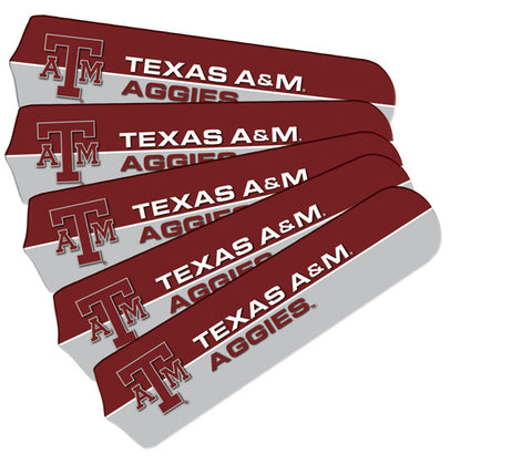 Texas A&M Fan Blade Set