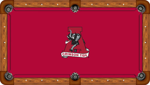 Alabama Billiard Table Cloth
