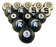 Image of Michigan State Spartans Billiard Ball Set