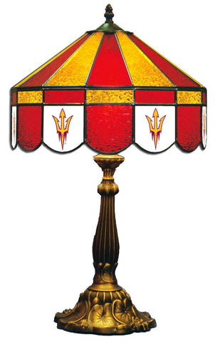 Arizona State Tiffany Stained Glass Lamps