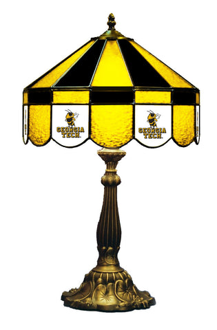 Georgia Tech Tiffany Stained Glass Lamps