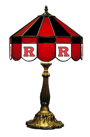 Rutgers Tiffany Stained Glass Lamps