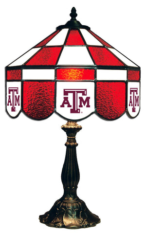 Texas A&M Tiffany Stained Glass Lamps