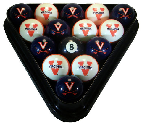 Virginia Cavaliers Billiard Ball Set