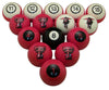 Image of Texas Tech Red Raiders Billiard Ball Set