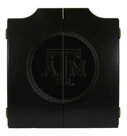 Texas A&M Dart Cabinet - Medallion Series
