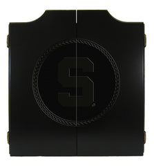 Image of Michigan State Dart Cabinet - Medallion Series