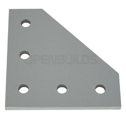 5 Hole 90 Degree Joining Plate
