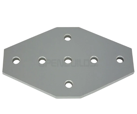 7 Hole Cross Joining Plate