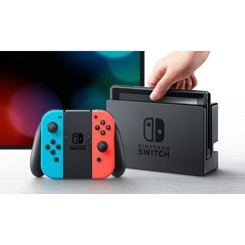 Nintendo Switch - 32GB Console with Neon Red and Blue Joy-Con! - USED. FAST Shipping