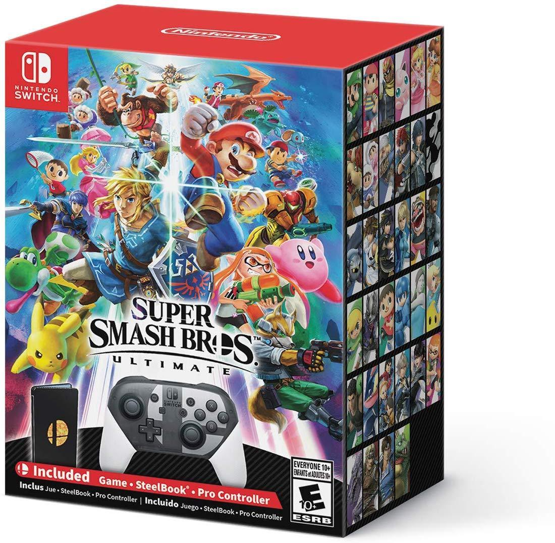 Super Smash Bros. Ultimate Special Edition - Nintendo Switch (Console Not Included) USED