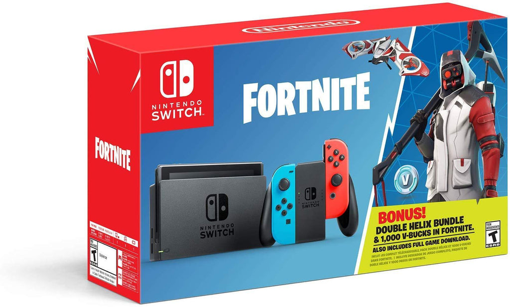 Nintendo Switch: Fortnite - Double Helix Console Bundle - Switch - USED