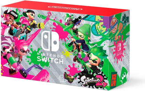 Nintendo Switch Hardware with Splatoon 2 + Neon Green/Neon Pink Joy-Cons (Nintendo Switch) USED