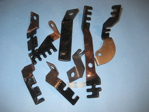 1968 Big Block Wire Bracket Kit- All Models