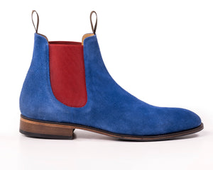 The Unique - Blue Chelsea Boot